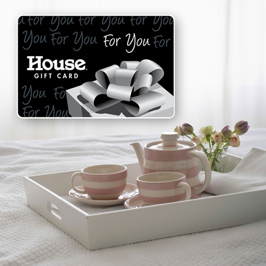 SIGN UP TODAY TO BE IN THE DRAW FOR A $100 HOUSE GIFT VOUCHER